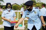 Kantor Imigrasi Sampit gelar tabur bunga mengenang jasa pahlawan