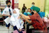 779 orang pelajar di Buntok ikuti vaksinasi COVID-19