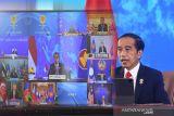 Presiden.Jokowi harap ASEAN jadi lokomotif stabilitas kawasan