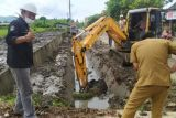 Dinas PUPR Mamuju perbaiki drainase rusak pemicu banjir