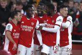 Menang 2-0, Arsenal mulus lewati Leeds United menuju perempat final Piala Liga Inggris