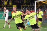 Dwigol Thorgan Hazard antarkan Dortmund melenggang ke 16 besar DFB Pokal