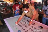 Pasar Langowan deklarasikan pedagang sahabat alam