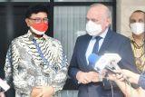 Menkominfo RI dan Dubes Prancis bahas perkembangan kerja sama