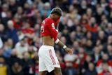 Kalah telak dari Liverpool, pemain MU Marcus Rashford mengaku malu