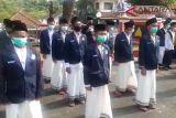 Upacara Peringatan Hari Santri di Bandarlampung
