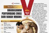 Iwan Samurai BINARAGAWAN PENYUMBANG EMAS DARI RANAH MINANG