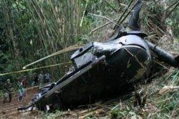 Helikopter operasi curah hujan China jatuh, lima orang tewas