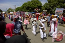 Ribuan Pelajar Semarakkan Karnaval Tahun Baru Hijriyah