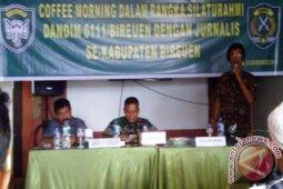 Dandim: Wartawan Motivator Jaga Keamanan dan Perdamaian
