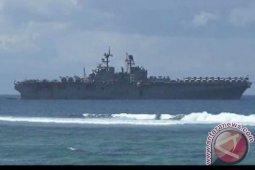 Kapal perang AS terbakar di San Diego, 21 orang cidera