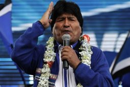 Presiden Bolivia mundur di tengah protes soal sengketa pemilu