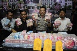 Polisi amankan barang bukti korupsi Rp4,187 miliar