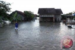 Bupati Bekasi kunjungi lokasi banjir Muaragembong