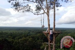 Objek wisata Bukit Kebang digemari wisatawan lokal