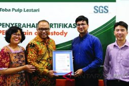 TPL kantongi sertifikat COC PEFC buktikan keberlanjutan