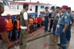Lanal Nias sosialisasikan keamanan dan keselamatan berlayar