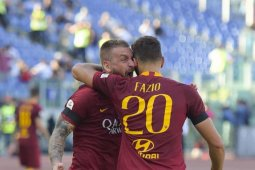 AS Roma menang 3-0 di markas Brescia