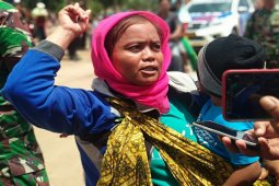 Korban Tsunami Berterima Kasih Kepada Pemerintah
