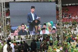 Presiden ajak muslimat NU untuk jaga persatuan