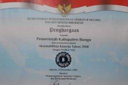 Akuntabilitas kinerja Kabupaten Bungo terus membaik