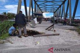 Oprit jembatan Suka Makmur sering amblas, ini kata Kadis PURR Singkil