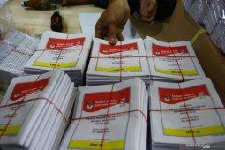 134.881 lembar surat suara DPD di Kota Jambi rusak