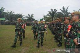 Siap jaga Pemilu 2019, Kodim 0204/DS lakukan gelar apel pasukan