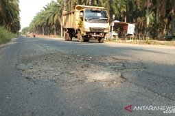 Kerusakan jalan provinsi capai 56,47 persen