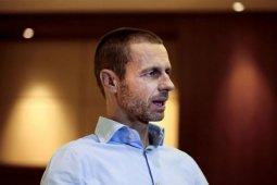 Presiden UEFA Aleksander Ceferin berharap Liga Champions dapat diselesaikan akhir Agustus