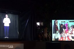 Kemenkominfo tampilkan teknologi hologram di Sukabumi