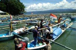 Menjaga surat suara tak melayang  di Pulau Pisang