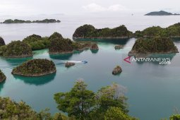 The destination of Piaynemo Raja Ampat West Papua has been reopened