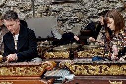 Gamelan hangatkan Kota Oxford di ajang Mosaic
