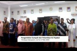 9 Pejabat PU Paser Dirombak
