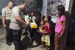 P2S Polres Minsel berbagi kasih dengan anak panti asuhan