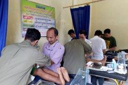Forum Dakwah Perbatasan sunat massal anak kurang mampu  Pulau Terluar