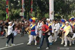 Korea ikut ramaikan parade Jakarnaval 2019
