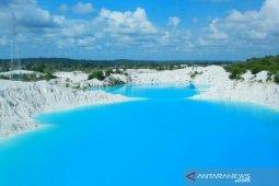 Objek wisata danau biru Bangka Tengah masuk nominasi API 2019