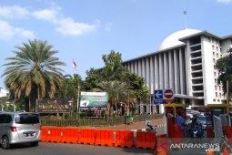 Syiar toleransi dan nasionalisme dari kemegahan Masjid Istiqlal Jakarta