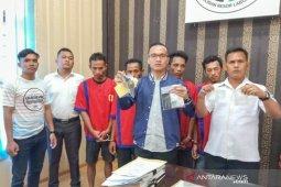 Polisi amankan senpi rakitan dari tersangka pemilik sabu-sabu