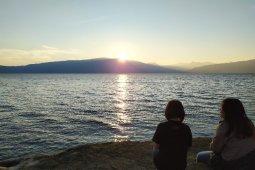 Sunrise di Samosir
