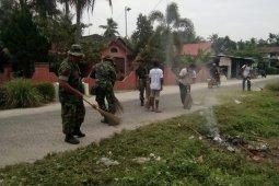 Kesigapan TNI Kodim 0204/DS ajak warga gotong royong