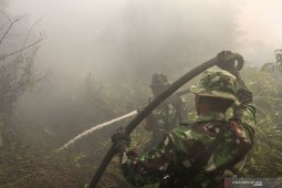Asap karhurla mulai mengganggu kesehatan warga Pekanbaru