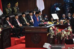 Pidato lengkap Presiden di depan Sidang Tahunan MPR 2019