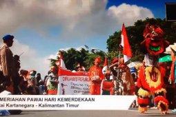 Pawai Merah Putih Kutai Kartanegara