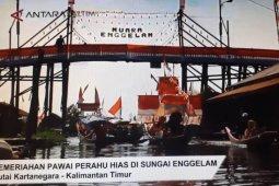 Puluhan Perahu Hias Meriahkan Kemerdekaan Indonesia