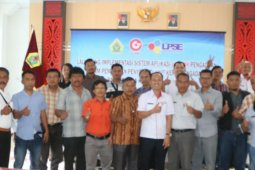 Pemkab Samosir luncurkan aplikasi sistem pengaduan penyedia barang jasa