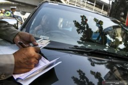 Polda Metro Jaya menunggu keputusan PSBB terkait sistem ganjil-genap