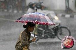 Potensi hujan di Riau diperkirakan terjadi dua hari ke depan
